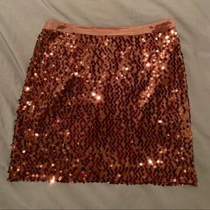 Banana Republic sequin party skirt